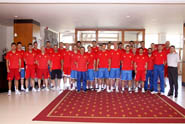 SPORTS GUESTS - Basketball National Team - MONTENEGRO